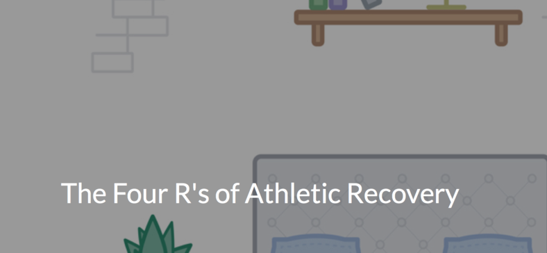 The Four R's of Athletic Recovery