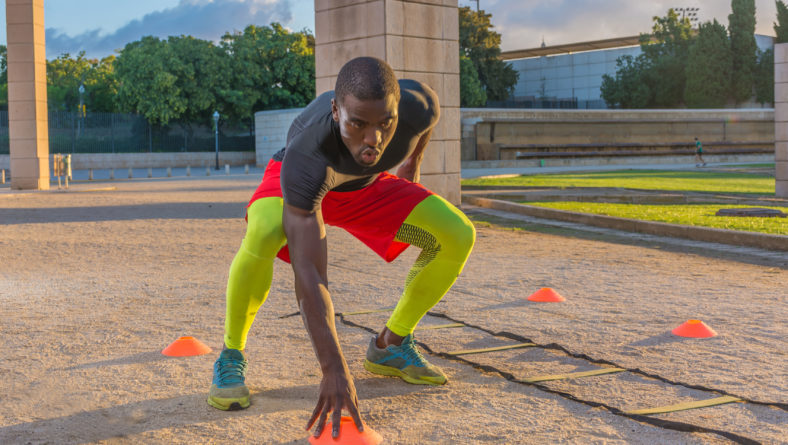 What is an example of a speed, agility, and quickness drill?